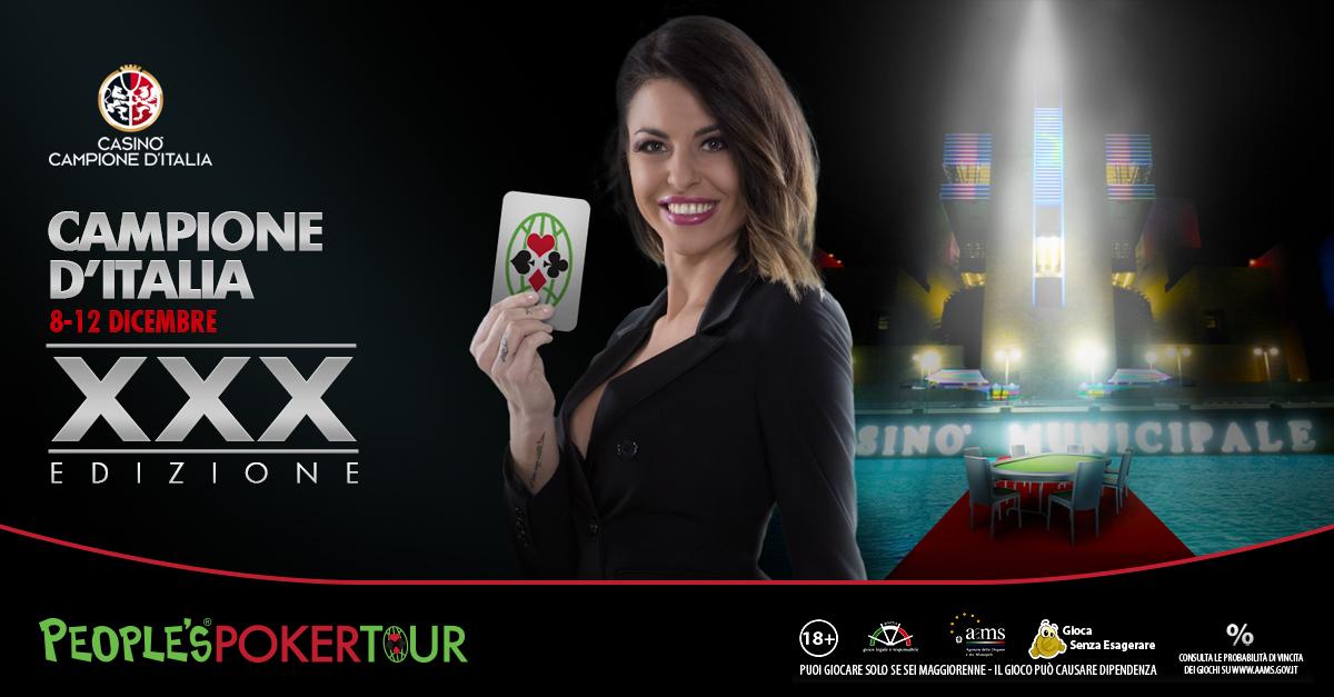 Poker, Pptour XXX: Microgame ufficializza il programma della tappa di Campione