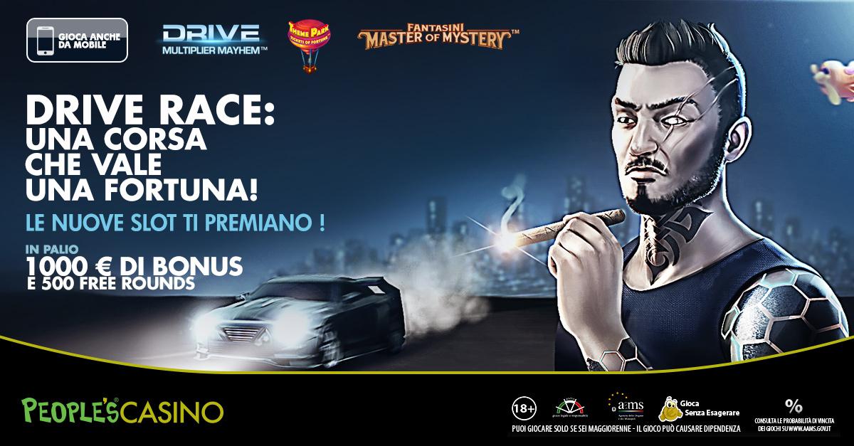 Ecco Drive Race: la gara che premia con 1.000 euro e 500 free rounds i più veloci