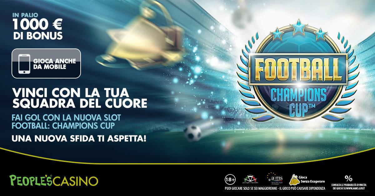 Nuovo gioco dedicato al calcio: per il lancio c'è Football Race con 1000 euro in palio