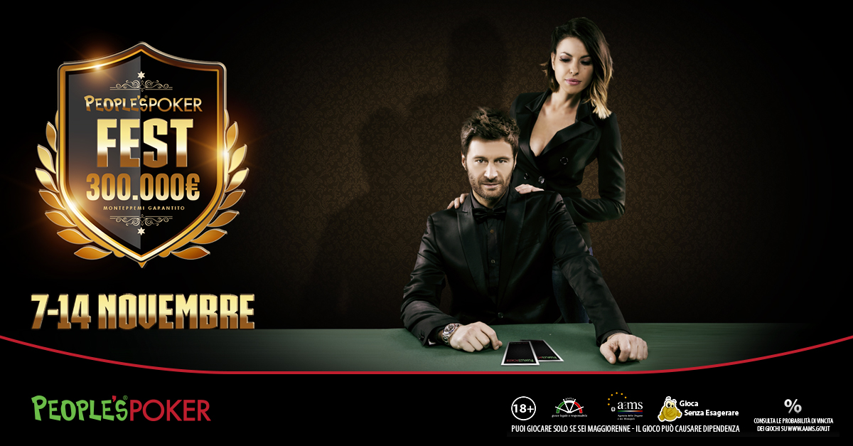 People's Poker Fest: ecco l'elenco dei 50 premiati dalle classifiche Red Carpet raddoppiate