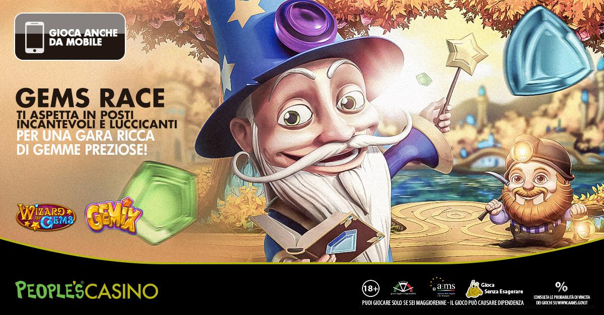 Gems Race, tempo fino a domenica per entrare in classifica e conquistare i mille euro