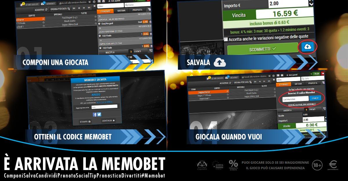 Memobet, la novità Microgame per le scommesse: interazione anche social