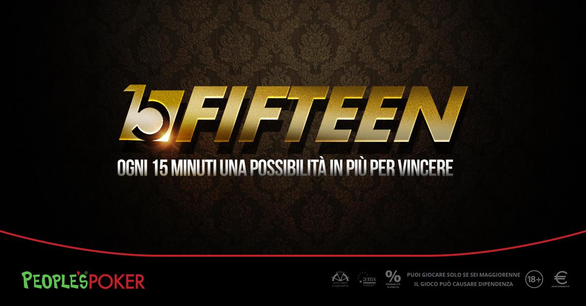 People's Poker: oltre mille al King. Superato il garantito da 100mila euro. La promo Fifteen ne ha già premiati 448