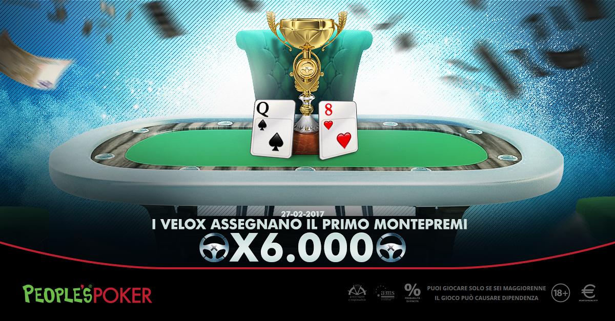 Velox, in Sicilia la prima partita X6.000: giocate 80 mani per assegnare i 3mila euro