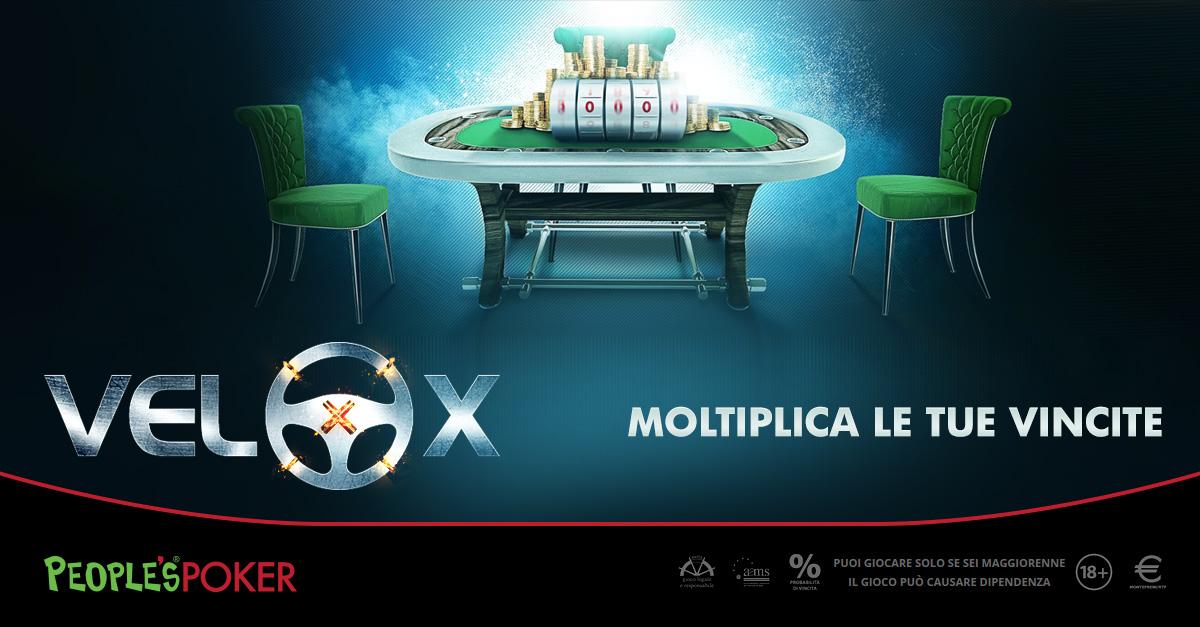 People's Poker: una veneta batte due siciliani e vince un VeloX da 60mila euro