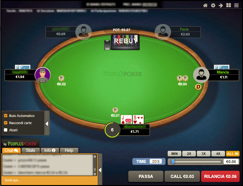 People's Poker lancia il client HTML5