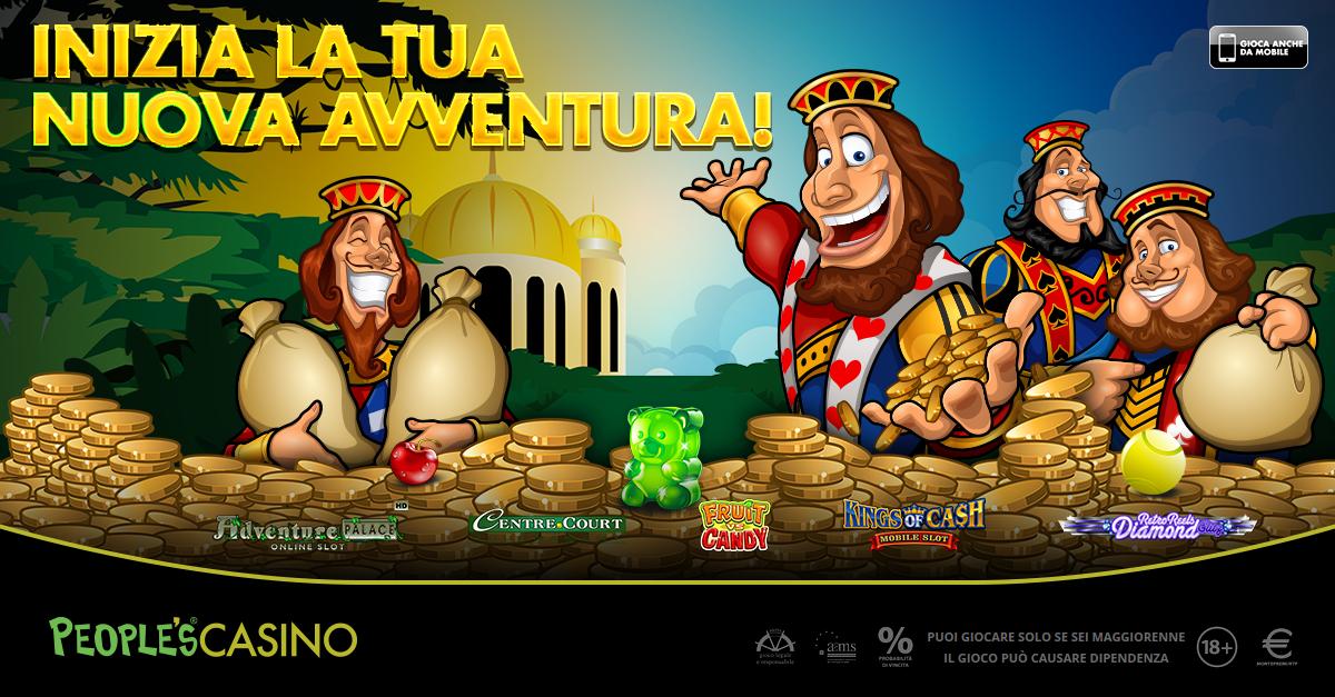 Cresce ancora il People's Casino, nel salone più grande d'Italia 5 nuovi giochi
