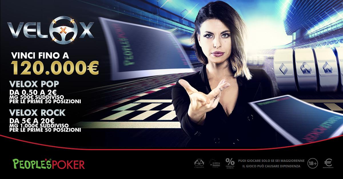 VeloX da 120mila euro, su People's Poker megavincita per una giocatrice di Verona