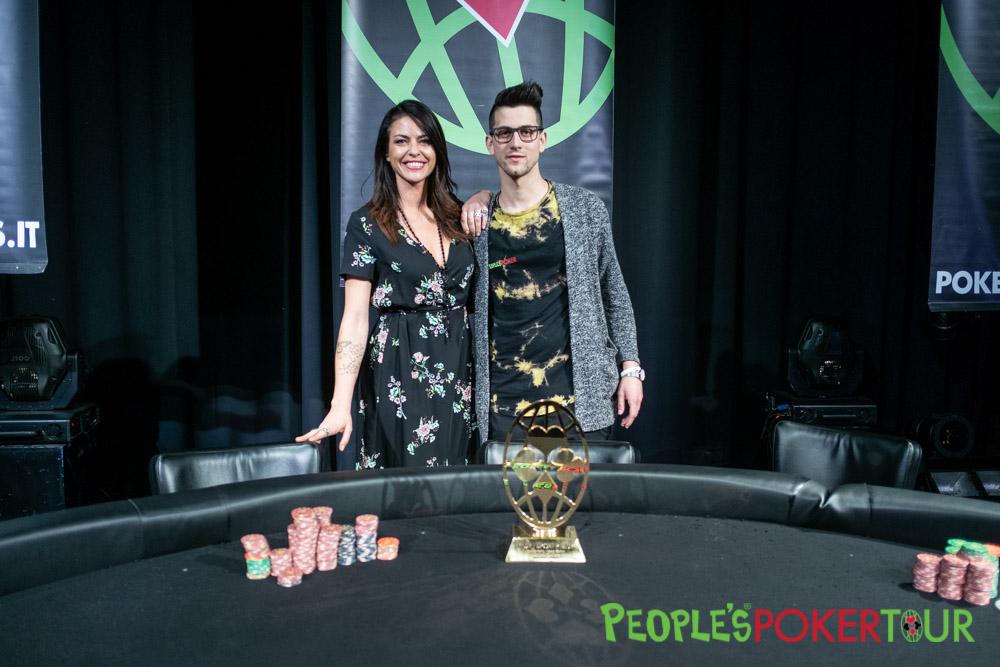 Danilo Lunelli 23 anni abruzzese vince il XXXII People's Poker Tour