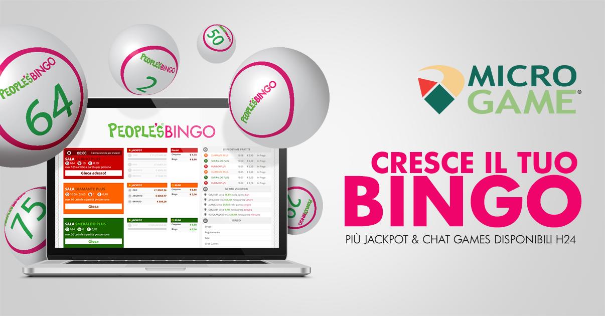 Bingo Microgame: un nuovo software e partite h24, nasce il primo network italiano