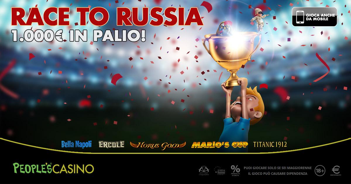 Race to Russia, Microgame mette la palla al centro… della sua nuova promo