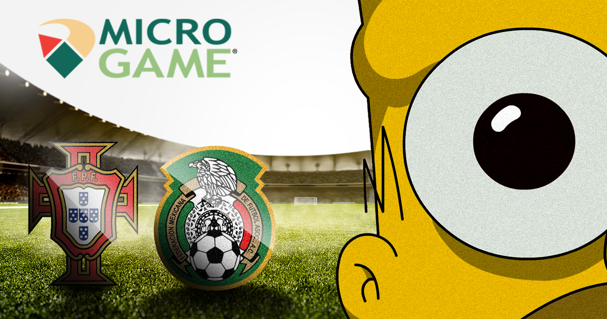 Mondiali, Microgame quota a 65 la finale dei Simpson: Portogallo vs Messico