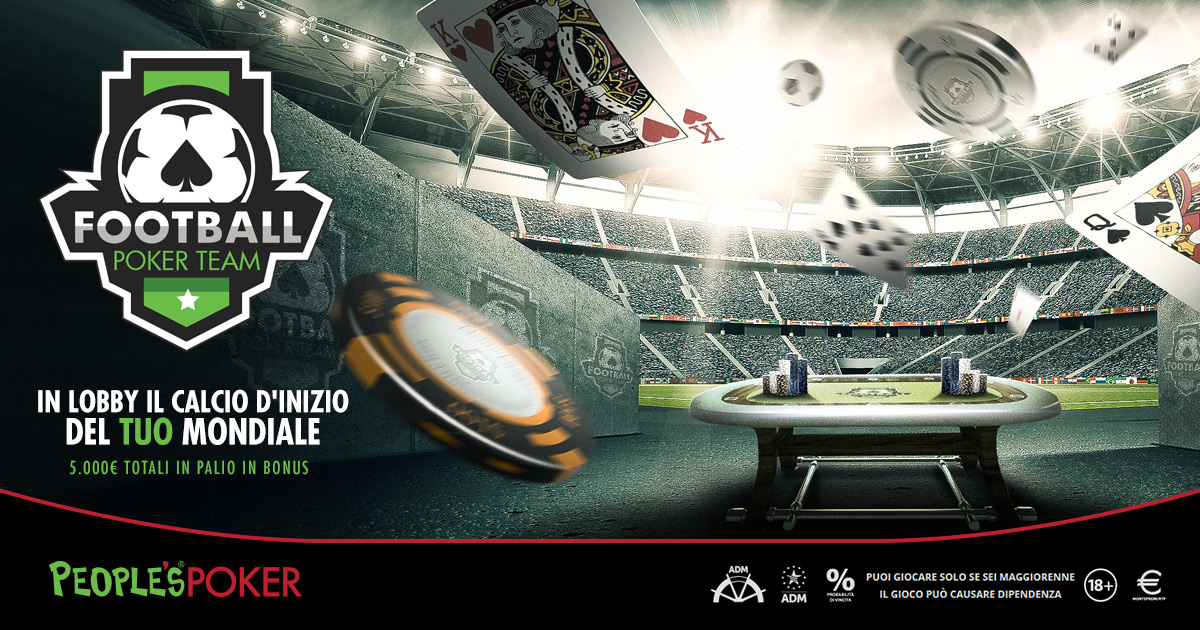 FOOTBALL POKER TEAM – PRIMO AGGIORNAMENTO