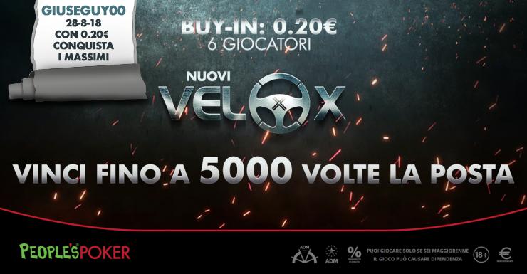VeloX da 20 cents: il moltiplicatore massimo bacia Milano …e giuseguy00