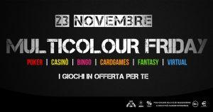 Altro che Black, il Friday di Microgame è Multicolour: occasioni per ogni gioco