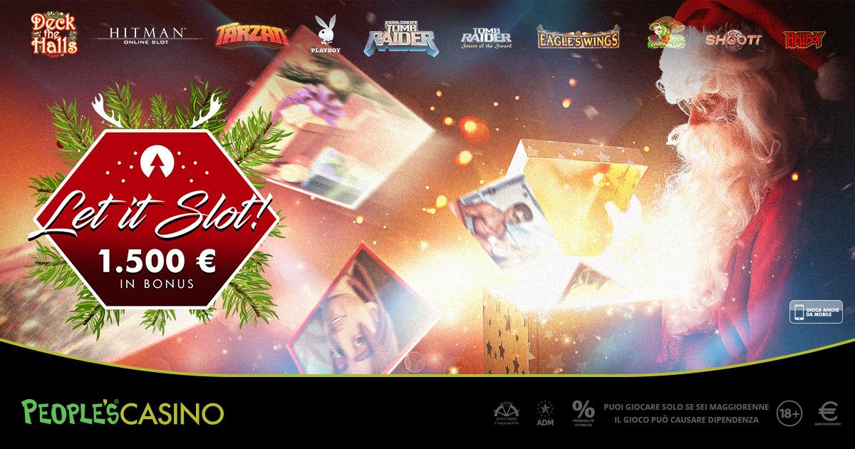 Let it Slot: anche a Natale il calore delle promozioni Microgame e People's Casino