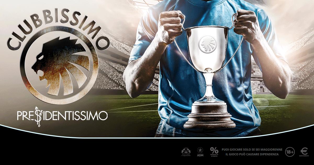 Clubbissimo: classifiche sit e torneo, 2.500 euro extra dai Fantasy Sport di Microgame