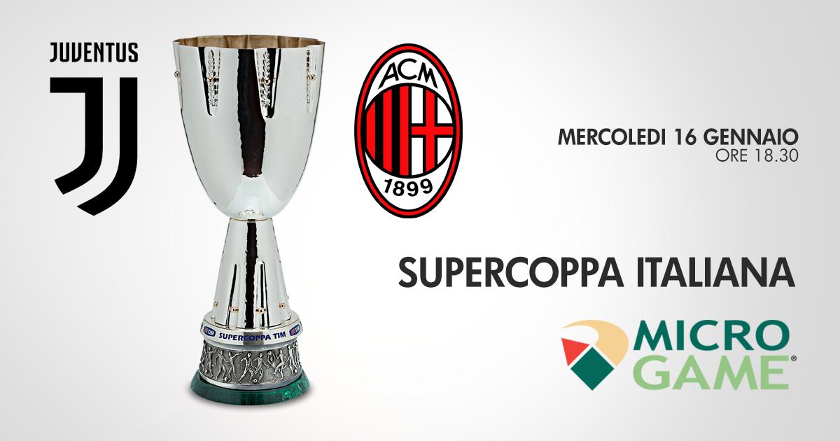 Supercoppa, Juventus-Milan: plebiscito bianconero, il 93% punta su Allegri