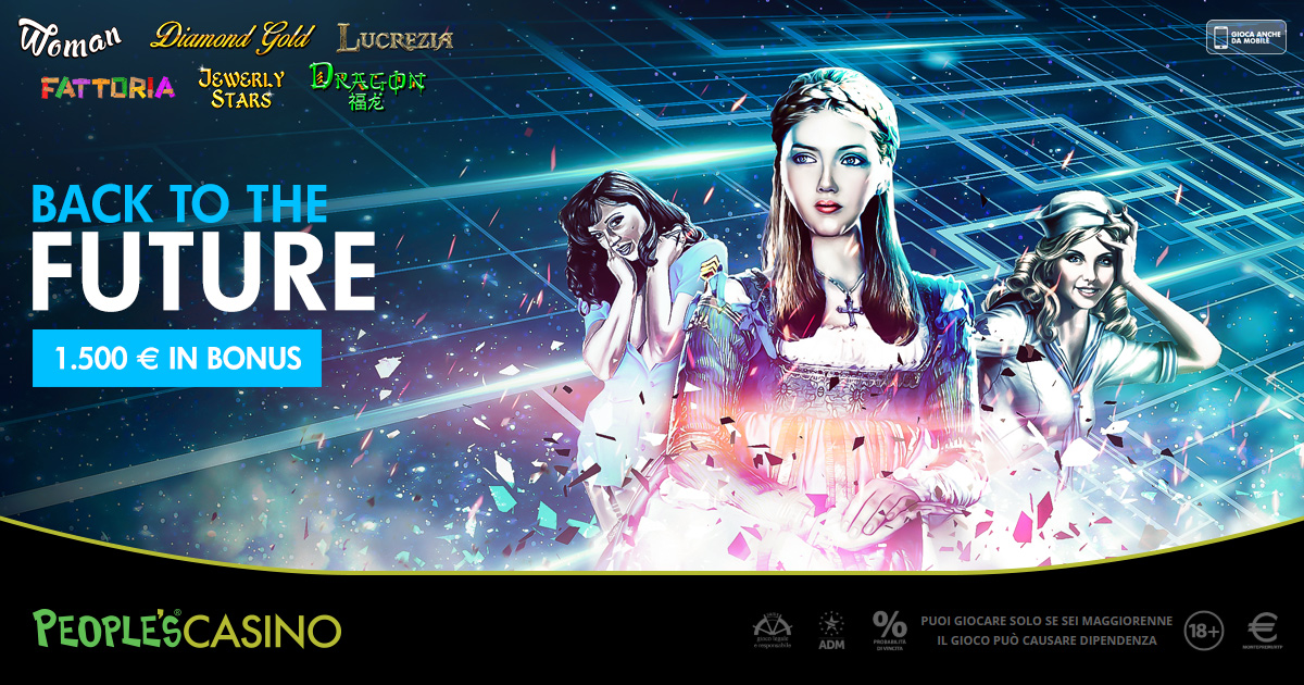 Back to the Future, nel People's Casino 6 titoli per 1.500 euro di extra-bonus