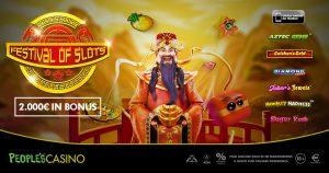 """Molto più di una promo, nel People's Casino parte """"Festival of slots"""""""