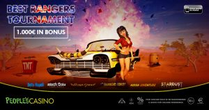 Best Rangers Tournament, la nuova promo di People's Casino alimenta la competizione