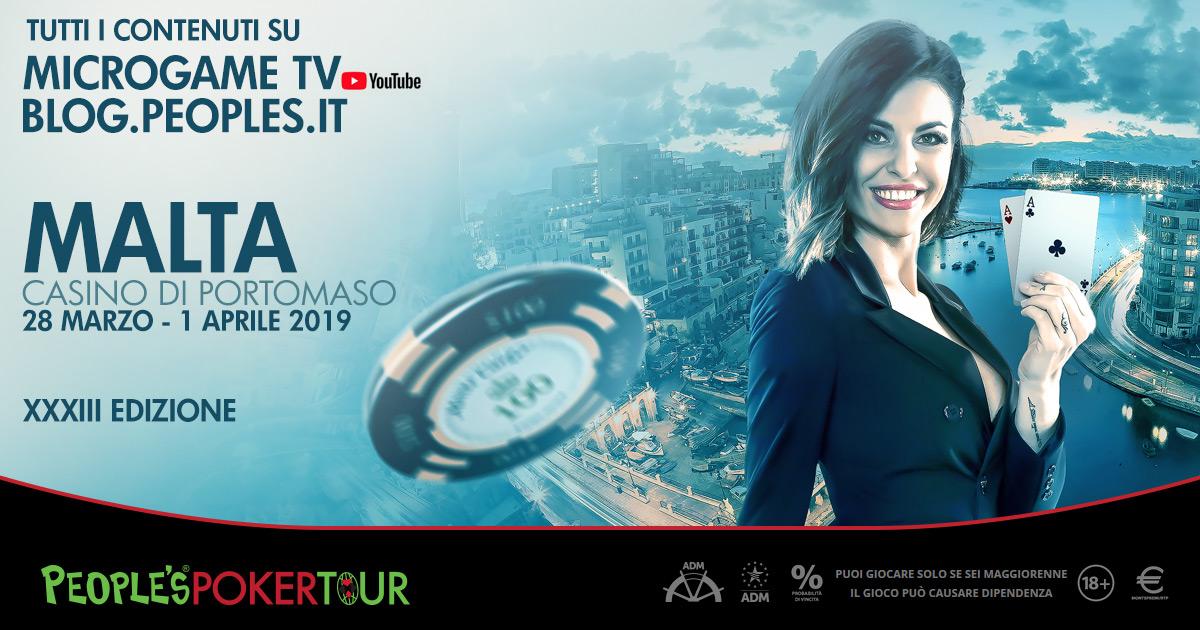 Il PPTour in diretta da Malta: sui canali Microgame tutti i contenuti della tappa