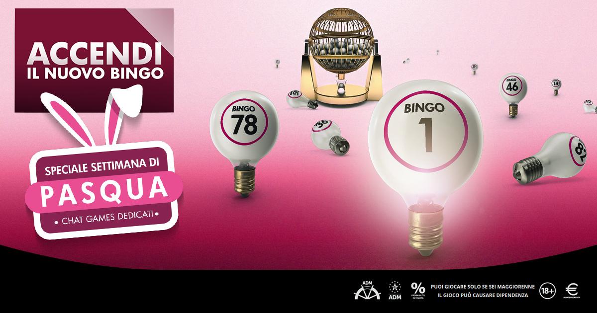 Il Bingo mette nell'uovo una settimana di promozioni con extra premi e chat a tema