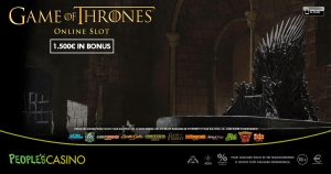 Game of Thrones ispira la promo del People's Casino: 100 extra bonus in palio
