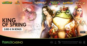 People's Casino, 3.000 euro al re di primavera: a chi andrà il trono della promo?