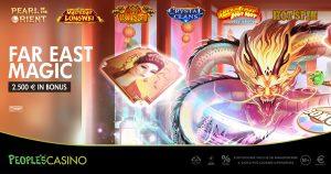 Far East Magic, il volo dal People's Casino all'Oriente può valere 2.500 euro