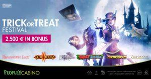 Trick or Treat Festival, promo da 2.500 euro: dolcetti e bonus per i primi 150