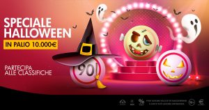Bingo Microgame, per Halloween palinsesti dedicati, classifiche e chat games