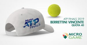 Atp Finals: Djokovic padrone in quota, Berrettini sogna a 40,00