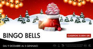 Bingo Bells, la promo natalizia Microgame distribuisce 25mila euro