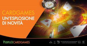 Card Games, promo natalizia di Microgame: con il nuovo portale ecco 35mila euro