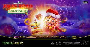 On The XMas Road: nel People's Casino 1.000 euro per prepararsi al Natale