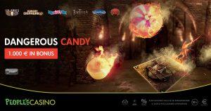 Dangerous Candy, nel People's Casino dolci ricompense ad alto rischio divertimento