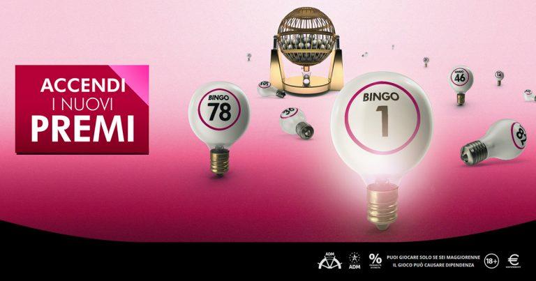 Bingo, agosto con doppi premi sui siti forniti da Microgame