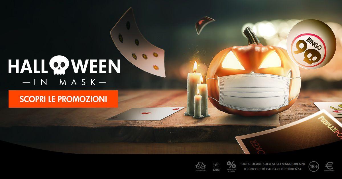 Bingo, una settimana dedicata ad Halloween con Microgame: promo, classifiche quotidiane e migliaia di premi