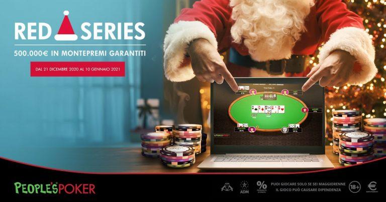 Red Series, Microgame distribuisce 500mila euro e raddoppia le classifiche poker