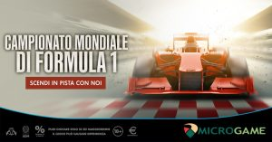 Formula 1, Microgame a Montecarlo con un'offerta da pole position